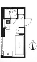 ドミトリー九段(女子) 平面図