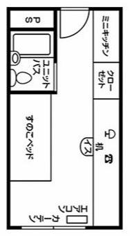 ドーミー赤坂(女子)平面図