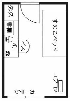 ドーミー目黒不動前(男子)平面図